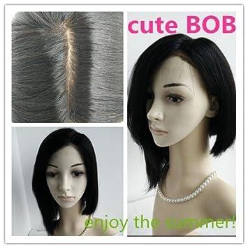 Amazon.com: Medium Length Bobs for Fine Hair,summer Hair ...