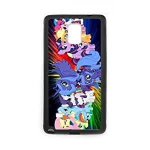 Cartoon Series, Galaxy Note4 Case, My Little Pony Protector Samsung Galaxy Note 4 (Laser Technology) Phone Case
