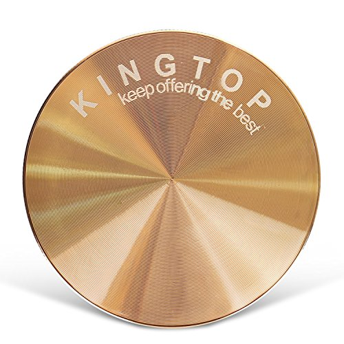 Kingtop Herb Spice Grinder Large 3.0 Inch Rose Gold by KingTop (Image #1)