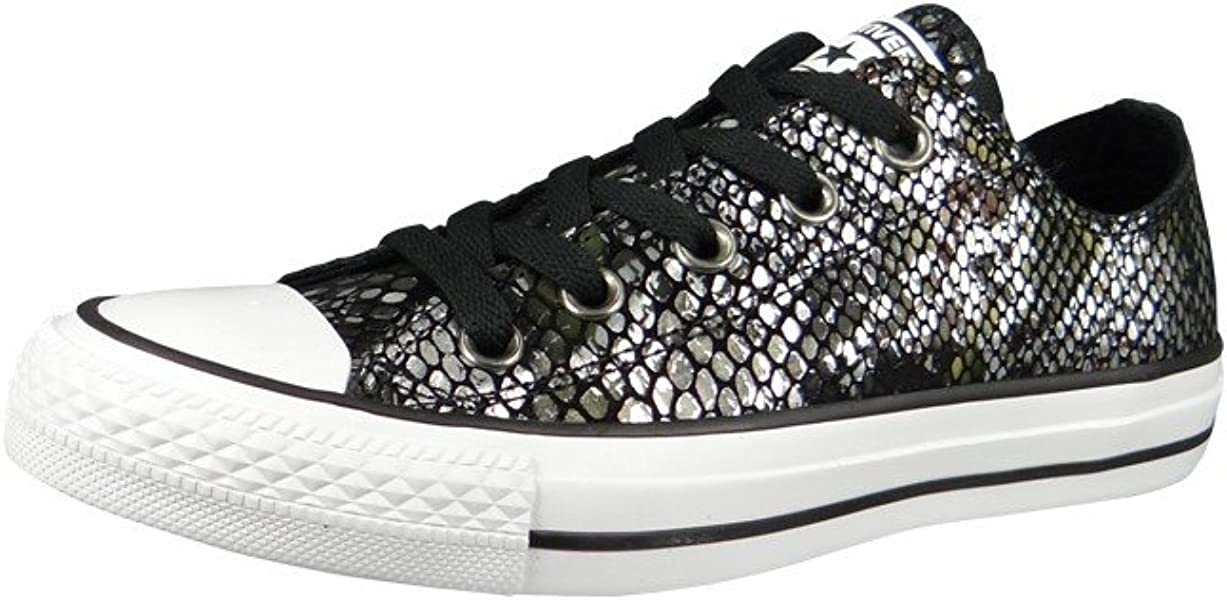 Womens Chuck Taylor All Star Ox Leather Trainers. Back. Double-tap to zoom 4e4111b34