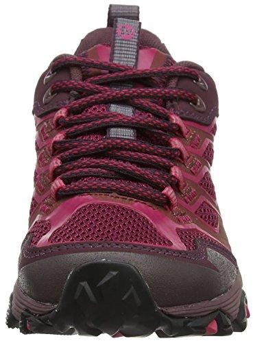 Merrell Damen Moab Fst Gore-Tex Trekking-& Wanderhalbschuhe, Pink (Rote Rübe)