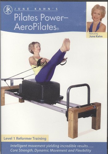June Kahn's Pilates Power - AeroPilates (Level 1 Reformer Training) (DVD format) -  June Kahn's Bodyworks, LLC