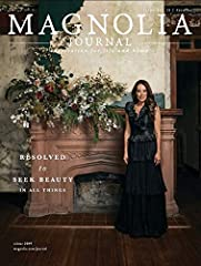 Find seasonal recipes and home decor ideas from your favorite Texan power couple in The Magnolia Journal. Sneak a peek into the life and home of Chip and Joanna Gaines with reflections from Jo and exclusive design tips. Subscribe to this quar...