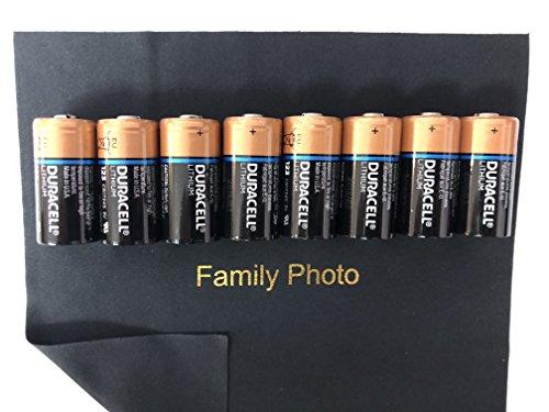 ra Lithium 3V CR123 Leak Resistant Long Lasting Batteries ()