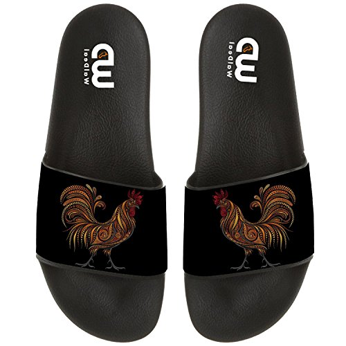 Women Cock Outdoor Shoes Slide Diamond Men Boy DIY Girl For Summer Kid Chicken Painting Slipper Beach Sandal Exnzpq7