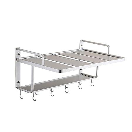 Estante De Aluminio para Microondas Montado En La Pared, Cocina ...
