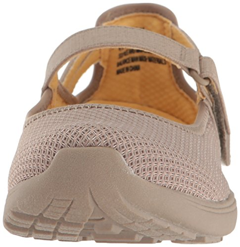 Women's Jane Hastings Flat Taupe Mary Baretraps 0xYPUwqSB