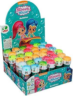 ColorBaby - Shimmer & Shine Pomperos de jabón, 36 unidades (ColorBaby 76857)