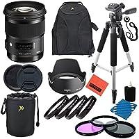 Sigma 50mm F1.4 DG HSM Art Lens for Nikon DSLR Cameras - Professional Kit