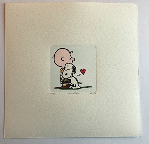 SNOOPY CHARLIE BROWN ARTWORK SOWA & REISER #D/500 HAND PAINTED SCHULZ PEANUTS 2 from Unknown