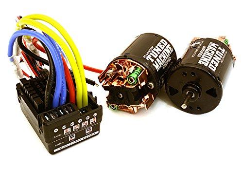 Integy RC Model Model Model Hop-ups C27390 Scale Off-Road Edition Waterproof WP-860 ESC & Dual Drive Motors 45T 540 Größe 43e0d7
