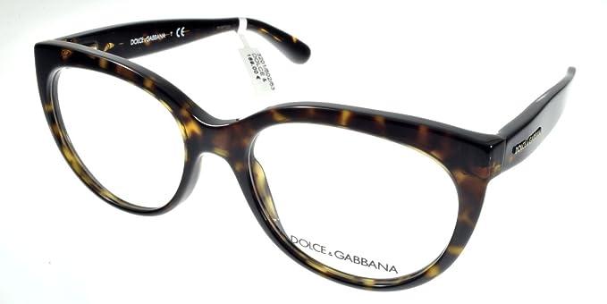 Dolce   Gabbana Montures de lunettes Pour Femme 3201 - 502  Dark Tortoise -  51mm 5603e0e79e1f