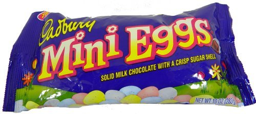 Cadbury Mini Eggs, 10-Ounce Bag (Pack of 8)