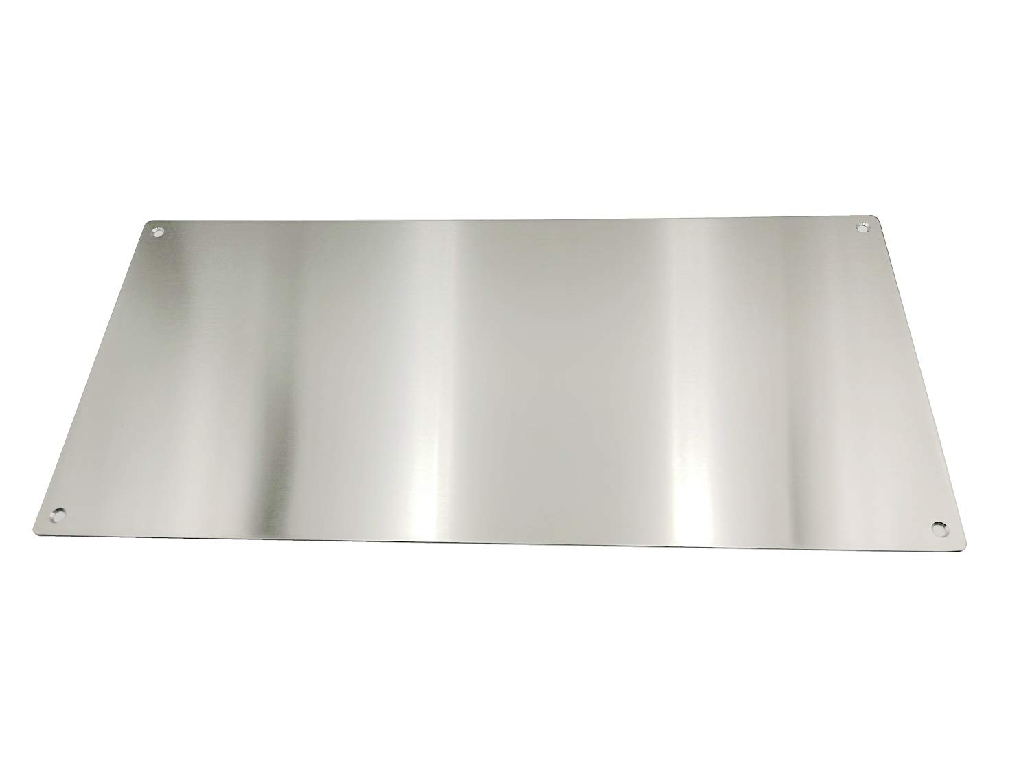 Promotion! VRSS Pack of 2 Satin Finish 304 Stainless Steel Kick Plate 200mm Height x 430mm Width 1.2mm Thick, 2 Pack by VRSS (Image #2)