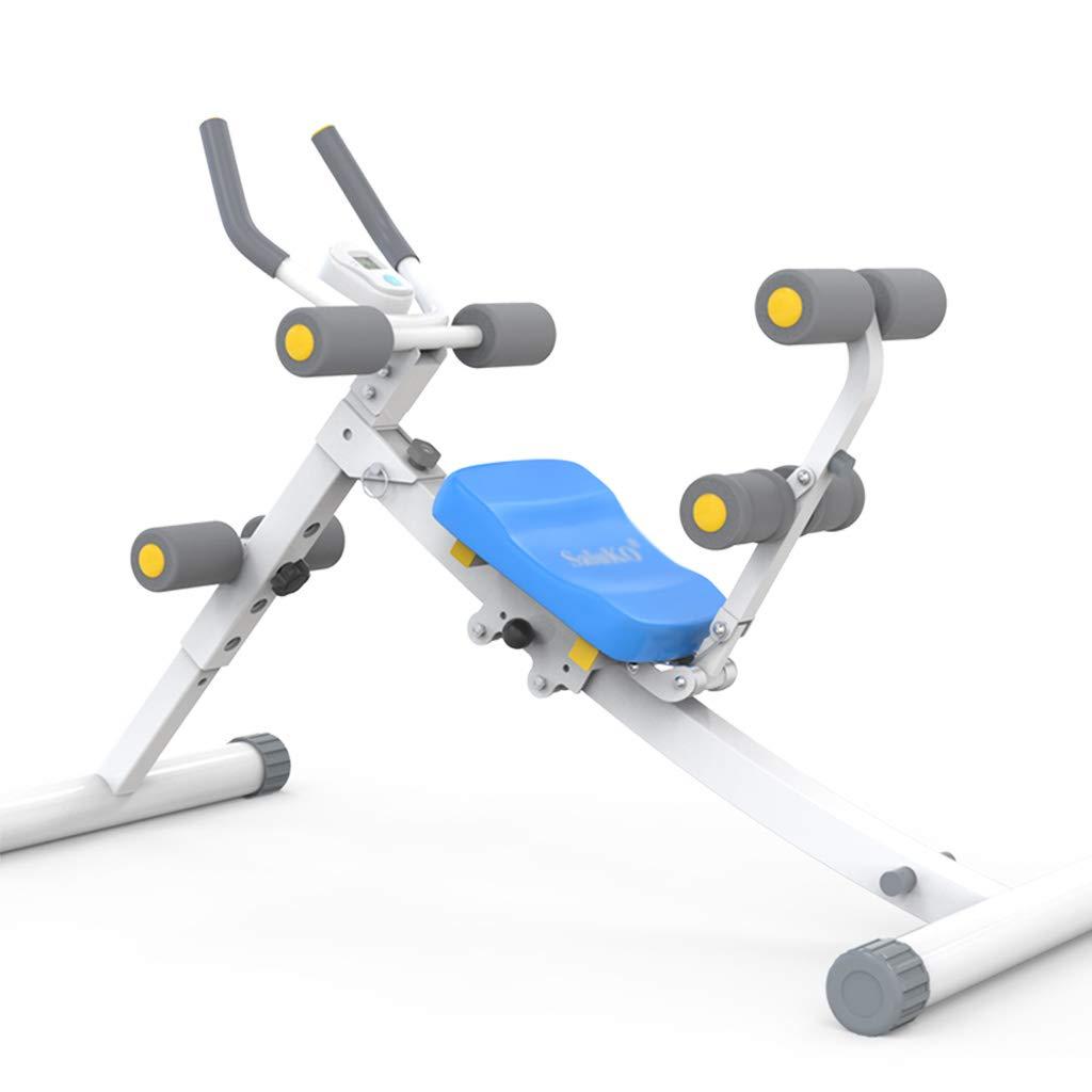 Fitness Bauchtrainer Faltbarer Bauchtrainer AB Cruncher Core-Übungsgerät Home Multifunktions-Fitnessstudio (Größe   125x40x81cm)