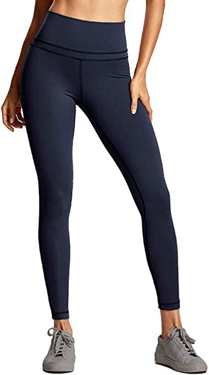 Mujer Pantalones Mallas Mujer Fitness Elasticos Mallas Moda Pantalones Color Solido Leggings Slim Fit Mayas Secado Rapido Largos Pantalones Gym Yoga Cintura Alta Deportivos Aptitud Pants Vpass