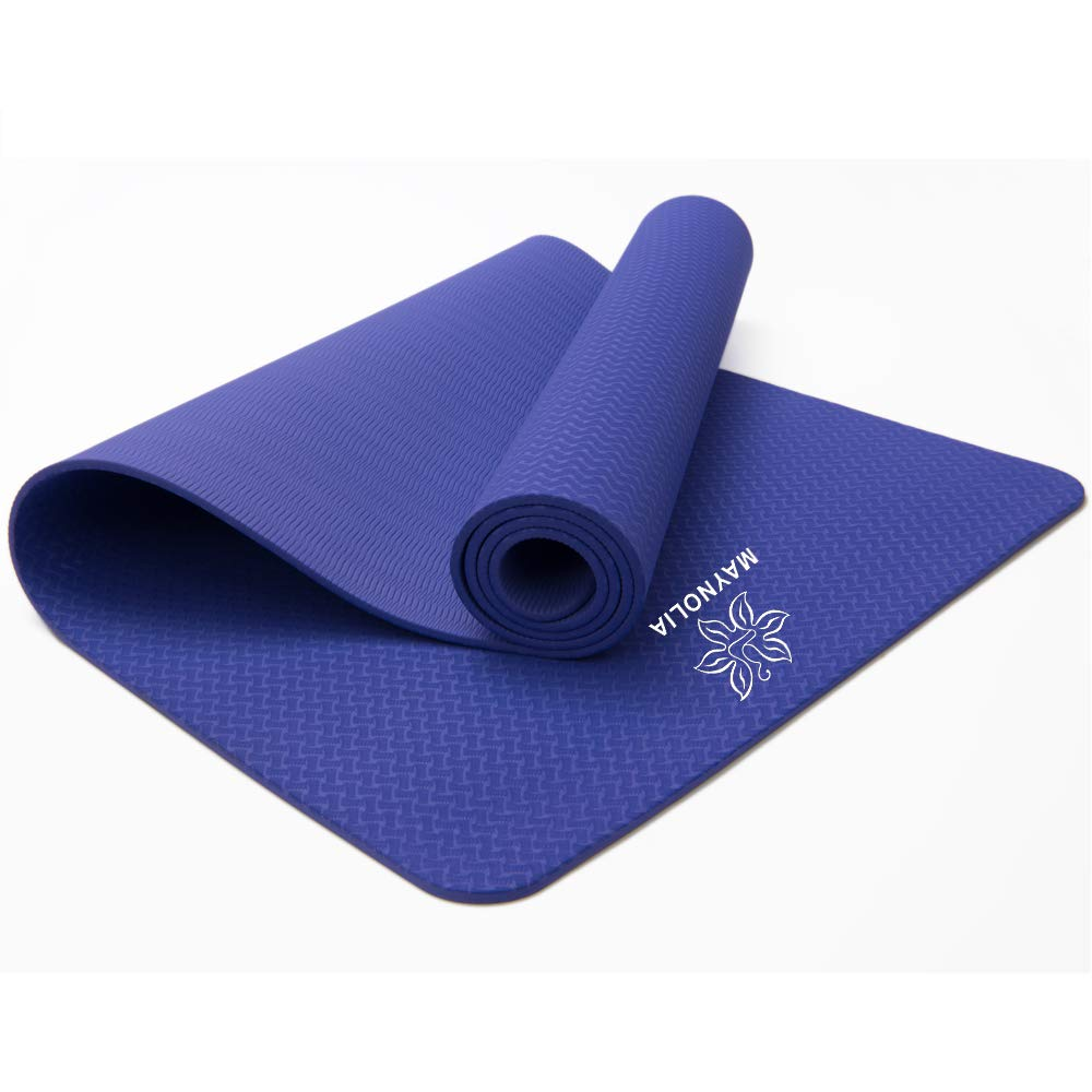 Amazon.com : MAYNOLIA TPE Yoga Mat in Thick and High ...
