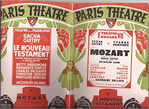 e2cb8c5b075fdd Télécharger des livres sur kindle gratuitement Paris-Theatre, n°9 ...