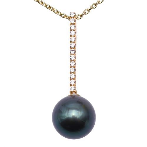 Jyx Aaa Perles Tahiti Collier Perles De Culture Perle De Tahiti
