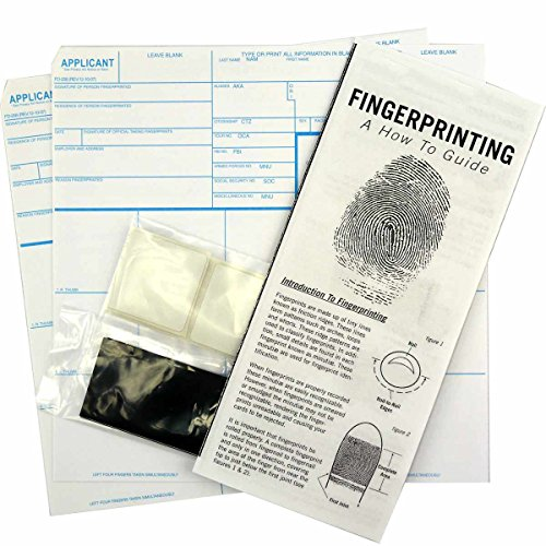 (FD-258 Applicant Card Kit (5 Pack): with Cards, Ink, Correction Tabs and Directions)
