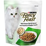 Purina Fancy Feast With Ocean Fish & Salmon Dry Food – (12) 16 oz. Pouches