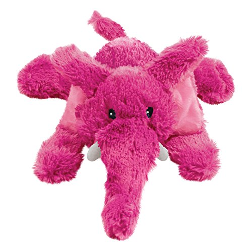 KONG Cozie Elmer the Elephant, Medium Dog Toy, (Elephant Plush Dog Toy)