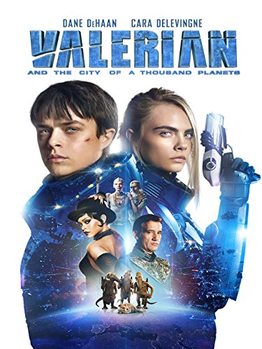 DVD : Valerian and the City of a Thousand Planets