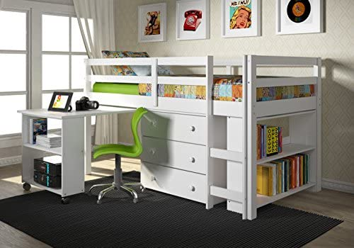 picture of Donco Kids Low Study Loft Bed