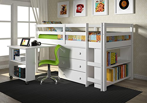 (Donco Kids Low Study Loft Bed)