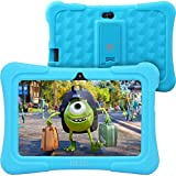 Dragon Touch Y88X Plus 7 inch Kids Tablet 2017 Disney Edition, Quad Core CPU, Android 5.1 Lollipop, IPS Display, Kidoz Pre-Installed w/ Bonus Disney Content (more than $60 Value)-Blue