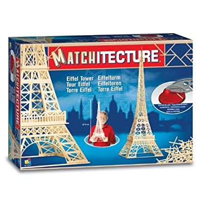 Bojeux Matchitecture - Eiffel Tower Toy, Blue: Toys & Games