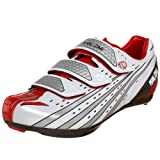 Pearl iZUMi Octane SL II Cycling Shoe,White/True Red,43 M EU (US Women's 10 M/US Men's 9.5 M)