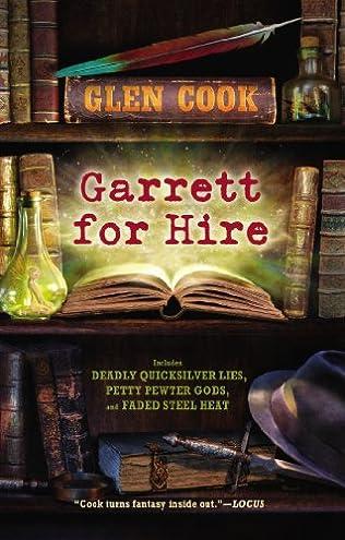 book cover of Garrett for Hire