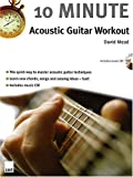 img - for 10 Minute Acoustic Guitar Workout book / textbook / text book