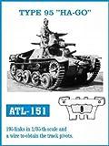 フリウルモデル 1/35 金属可動履帯 TYPE95 HA-GO 金属パーツ ATL-151