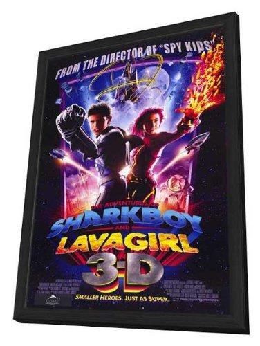 The Adventures of Shark Boy & Lava Girl in 3-D Framed Movie Poster
