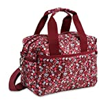 J World New York Aby Bag Travel Tote, Pink Floret, One Size For Sale