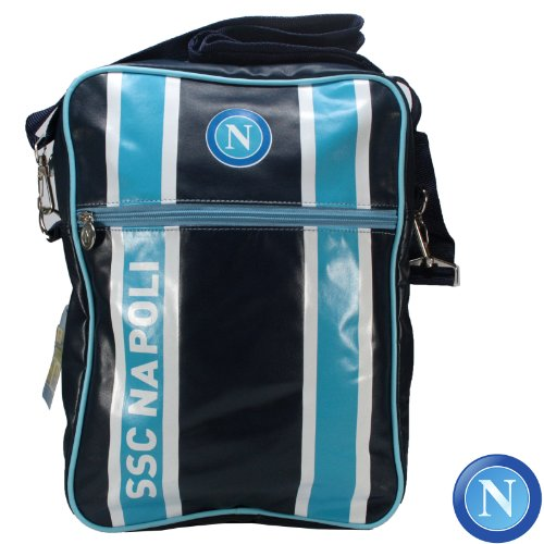 SSC Napoli Bolso para Hombre Enzo Castellano Bolso al Hombro Official Product