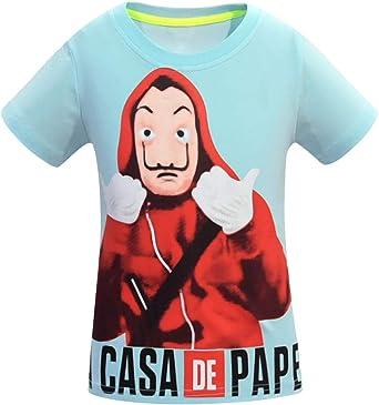 Camiseta La Casa de Papel Niño, La Casa de Papel Camiseta Niña ...
