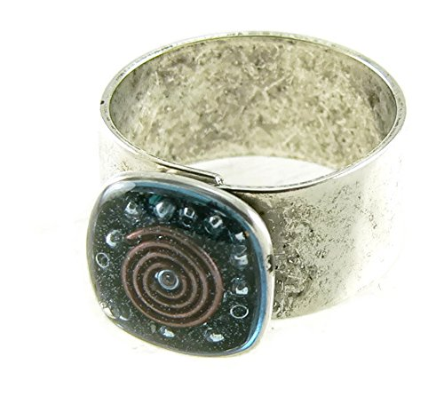 Orgone Energy Cocktail Ring-Sm