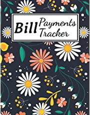 """Bill Payments Tracker: Bill Payment Organizer Log Book Monthly Bill Planner Notebook 