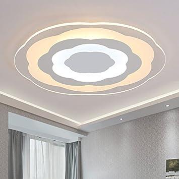 Das Wohnzimmer Mit Slim Minimalist Moderne Led   Beleuchtung Lampe  Deckenleuchten Der Fernsteuerung Farbwechsel Lampe Warm