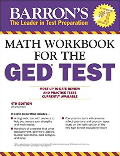 Math Workbook For The GED Test, 4th Edition (Barron's Ged Math ...