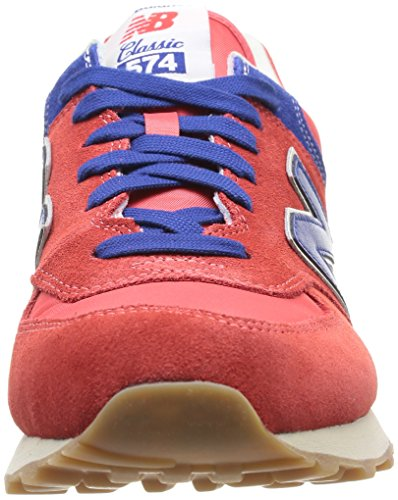 New Balance Ml574vrb - - Hombre Rojo