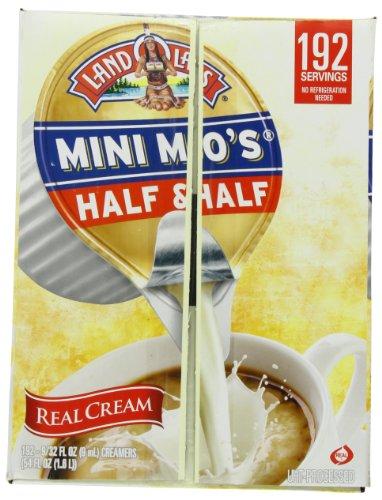 Land O Lakes Mini Moos Creamer, Half and Half Cups, 192 ...