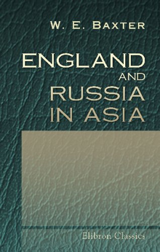 England and Russia in Asia pdf epub