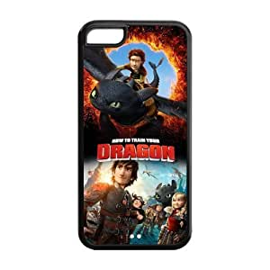 diy phone caseHow To Train Your Dragon Solid Rubber Customized Cover Case for iphone 5c 5c-linda740diy phone case