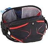 Salomon S-Lab Advanced Skin 3 Belt Pack Set Aluminium/Racing Red/Black, One Size