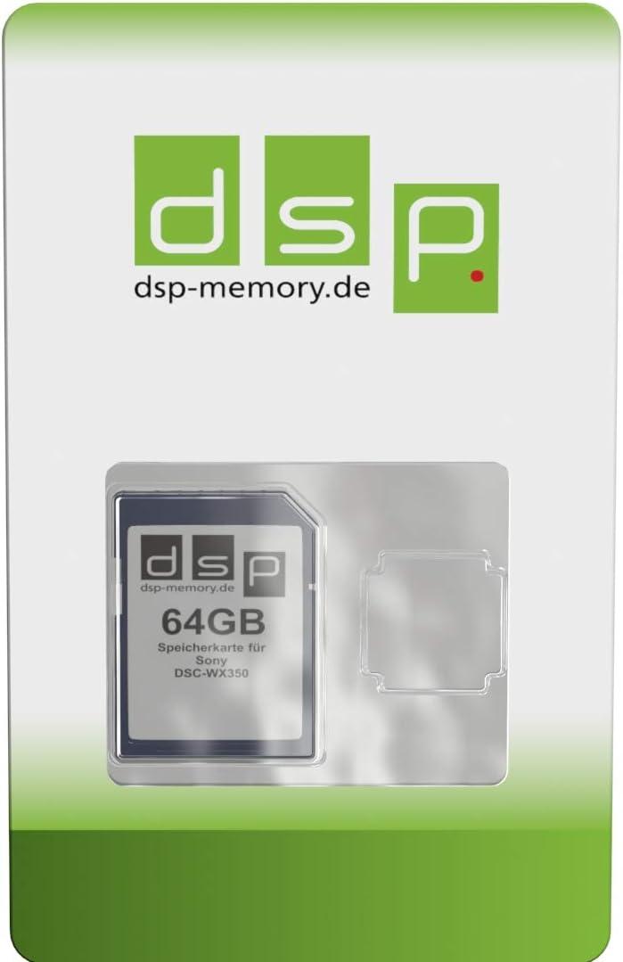Dsp Memory 64gb Speicherkarte Für Sony Dsc Wx350 Computer Zubehör