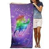 Best Rainbow Towel For Bath Beaches - Rainbow Galaxy Unicorn Bath Towels Beach Towels Swim Review